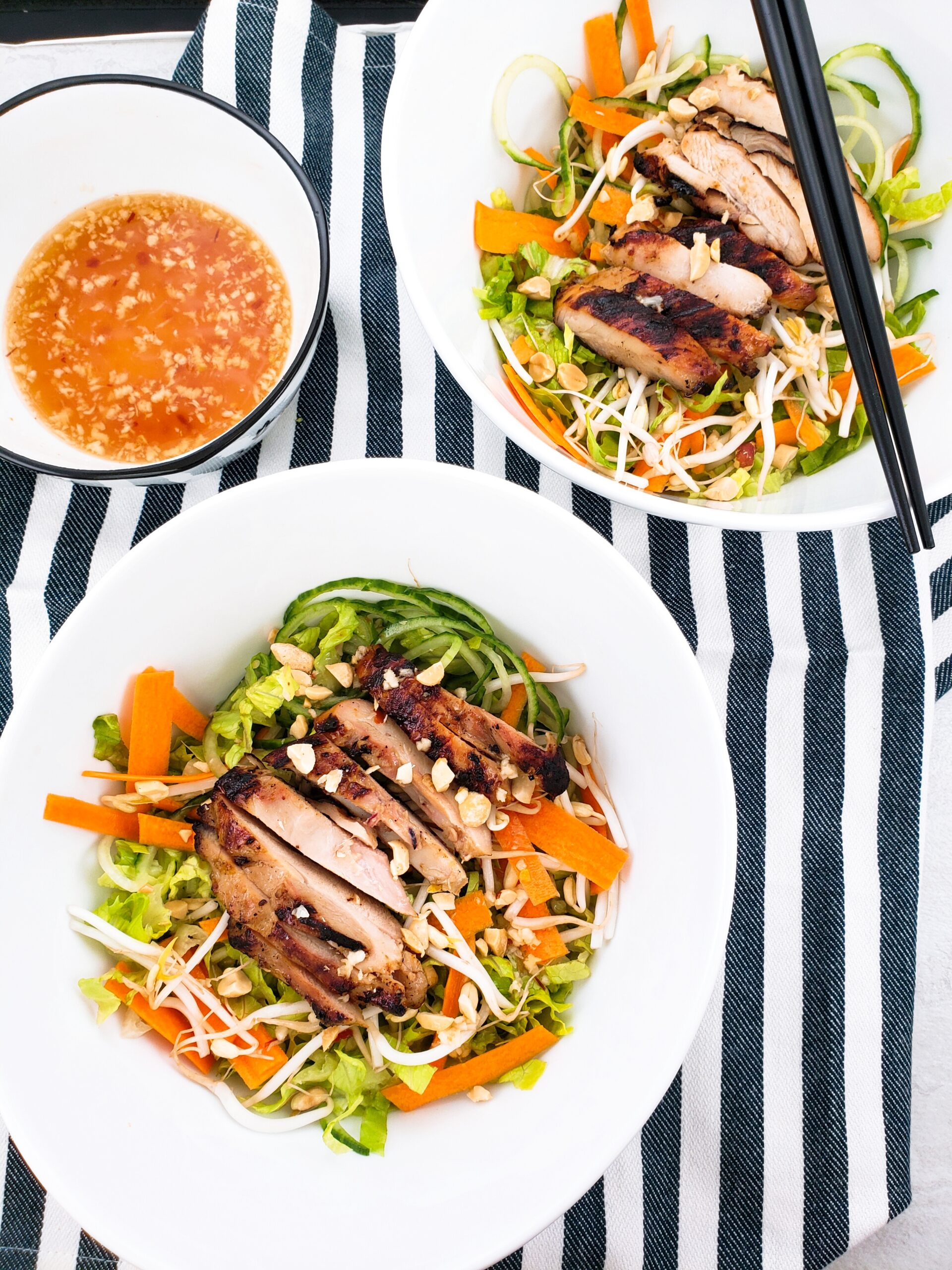 Vietnamese Lemongrass Chicken Salad Noshing To Talk About